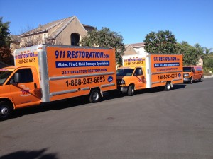 Water damage Chapel Hill Equipped Van