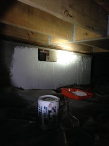 Commercial Restoration Crawl Space